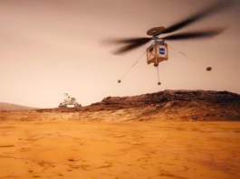 NASA Is to Decide to Add a Helicopter To The Mars in the Year 2020 Mission