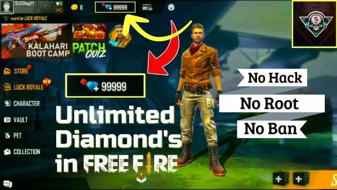 Free Fire Diamonds Generator
